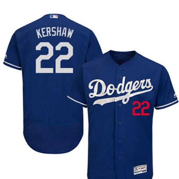495cae13b Clayton Kershaw Los Angeles Dodgers  22 Jersey